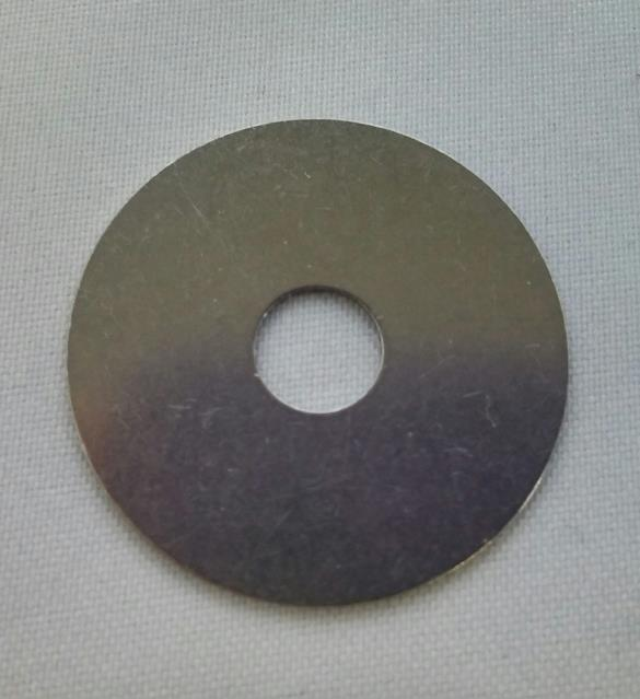 WASHER, SS, 1.00 OD X .253 ID X .020 TH, GUARD MONT, FORD RAPTOR