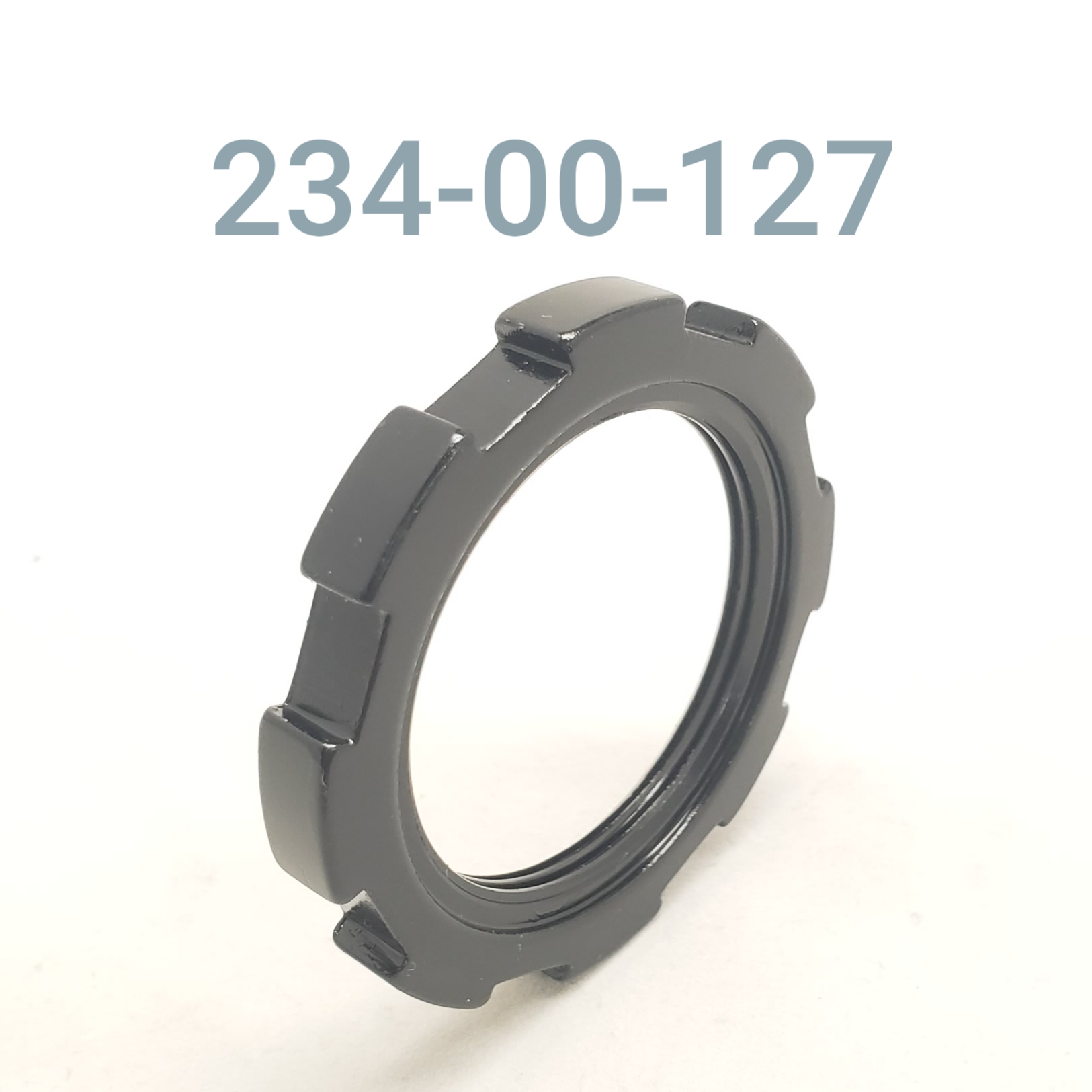 PRELOAD RING, B-U, ALUM. BODY, BLACK