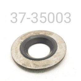 DUST SEAL, 12.5MM, METAL AND RUBBER