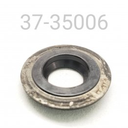 DUST SEAL, 14 MM, METAL AND RUBBER
